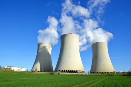 Centrale nucléaire de Temelin en République tchèque Europe Banque d'images - 42563347