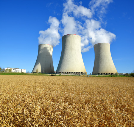 temelin: Nuclear power plant Temelin in Czech Republic Europe