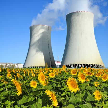 power plant: Nuclear power plant Temelin in Czech Republic Europe