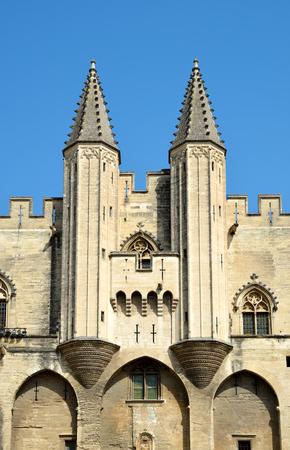 palais: Palais des Papes in Avignon, France