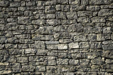 Stone wall texture for background Stock Photo