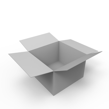 Concept of  think outside the box  photo