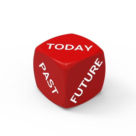 Live For Today - How to Make the Right Choice. Stock Photo - 19319488