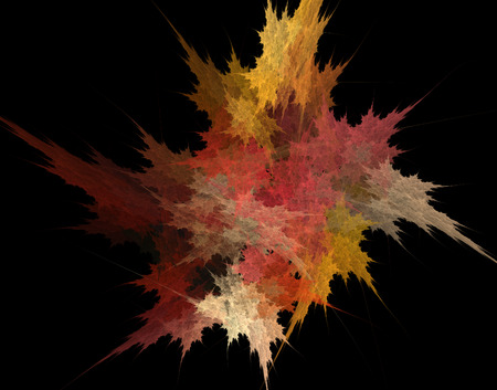 Abstract illustration with high detail. Simple design. Stock Photo