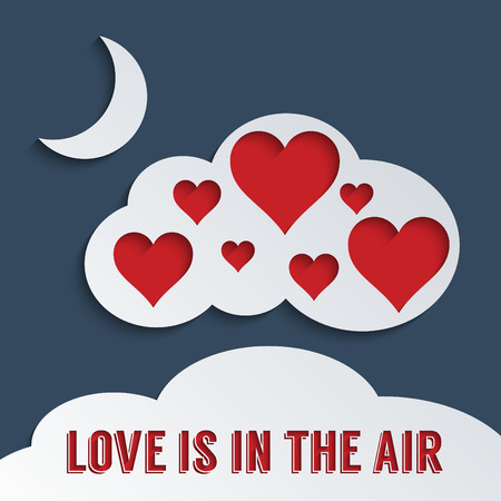 Concept for Love is in the air.