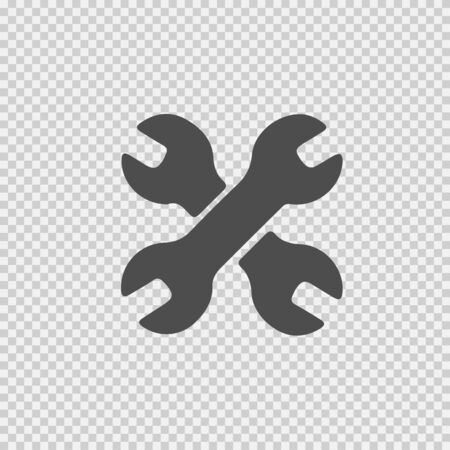 Wrench vector icon. Handyman symbol.