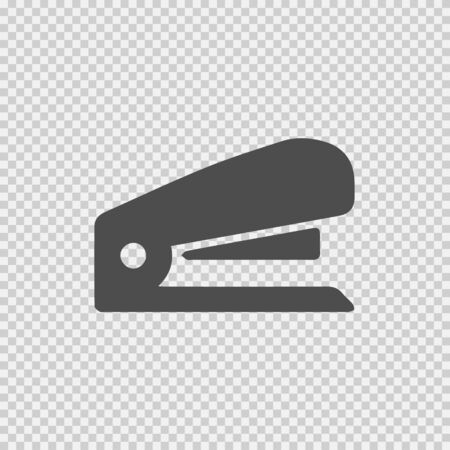Stapler vector icon. Simple isolated pictogram.