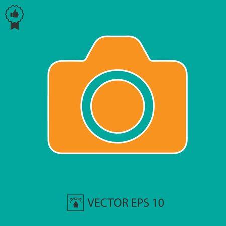Camera vector. Photo camera icon. Фото со стока - 140967016