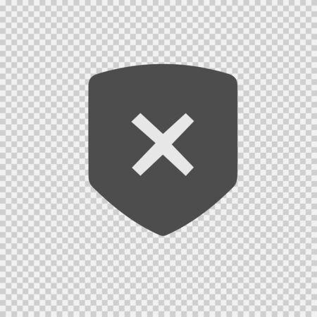 X mark vector icon eps 10. Remove symbol. Delete sign. Banco de Imagens - 143026710