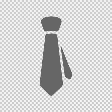 Tie vector icon eps 10. Necktie business symbol.