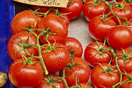 Red and fresh tomatoes
