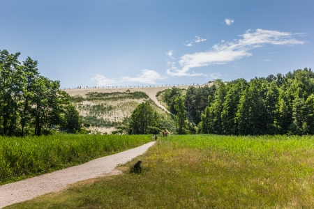 Highest dune on the curonian Spit, Lithuania