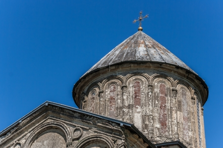 gelati: Detail of the Gelati monastery founded by the King of Georgia David the Builder