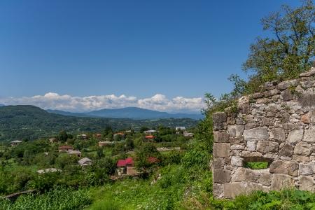 gelati: Gelati as seen from the hilltop monastery
