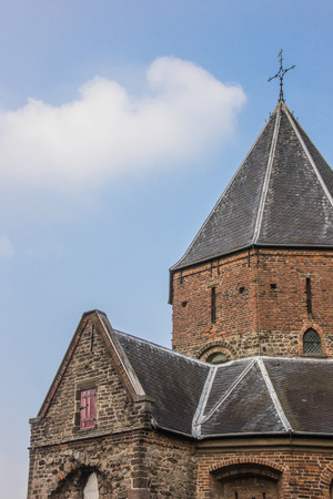 nicolaas: Detail of the Sint Nicolaas Church in Nijmegen, Netherlands