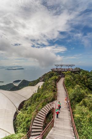 langkawi island: Viewing platform on the top of Langkawi island, Malaysia