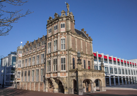 Duivelshuis in the center of Arnhem, Holland