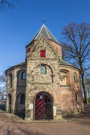 nicolaas: Sint Nicolaas church in the Valkhof park in Nijmegen, Netherlands Stock Photo