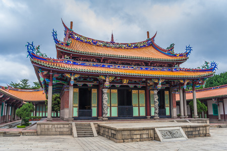 Mengjia Longshan Temple for a mixture of Buddhist and Taoist deities in Taipei, Taiwan