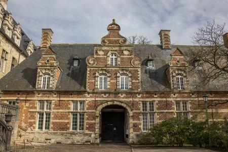 leuven: Old building of the Park abbey near Leuven, Belgium Editorial