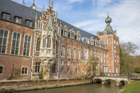 leuven: Castle Arenberg, now university of Leuven in Belgium