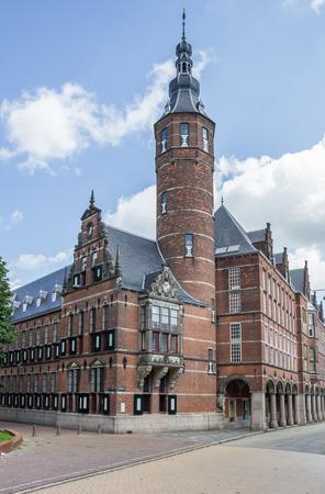 groningen: Province house in the historical center of Groningen, The Netherlands