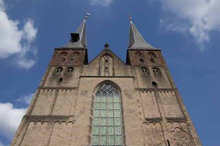 nicolaas: St. Nicolaas church in Deventer, The Netherlands Stock Photo