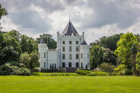 dutch: Dutch mansion Sandenburg in Langbroek, The Netherlands Editorial
