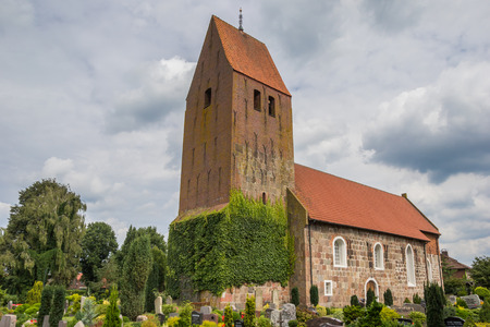 johannes: St. Johannes Church in the center of Wiefelstede, Germany