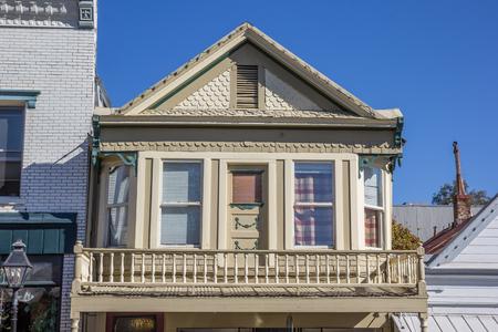 nevada: Historical house in downtown Nevada City, California