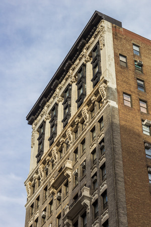 fifth avenue: Old building at fifth avenue in New York City, USA Editorial
