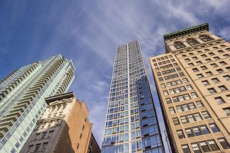 fifth avenue: Skyscrapers at Fifth Avenue in New York City, America