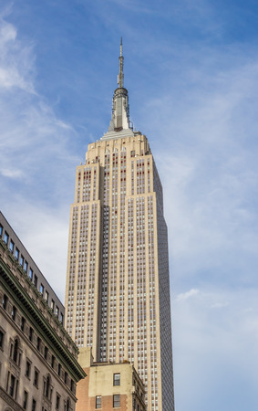 empire: Empire State Building in New York City, USA