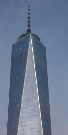 freedom tower: Top of the freedom tower in New York city, USA Editorial