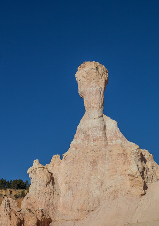 bryce canyon: Typical bryce canyon rock on the Queens Garden trail Stock Photo