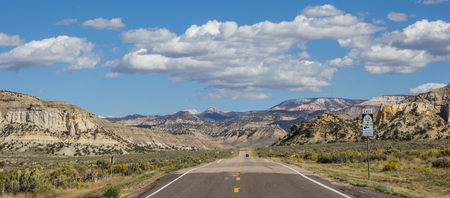 byway: Panorama of scenic byway 12 in Utah, USA