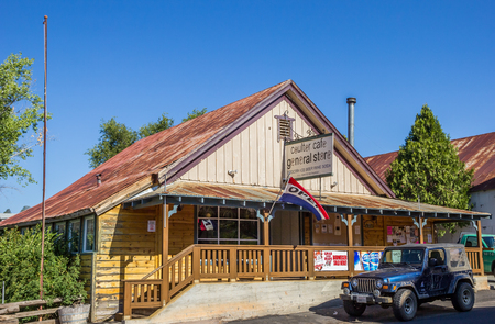 general store: General store in Coulterville, California, United States