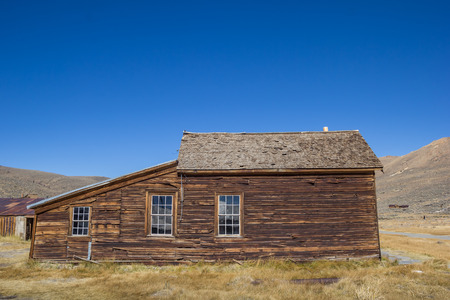 bodie: Abandoned house in Bodie State Historic Park, California, USA Stock Photo