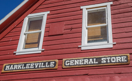 general store: Facade of the general store in Markleeville, California, USA Editorial
