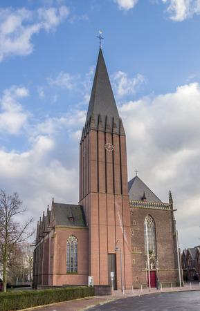 westfalen: St. Arnold Janssen Chuch in Goch, Germany