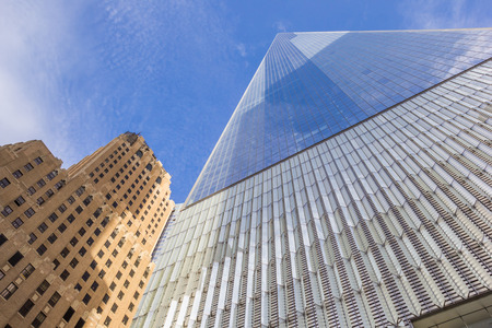 wtc: World Trade Center Freedom Tower in New York City, USA