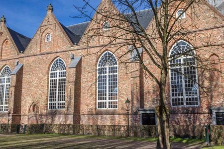leeuwarden: Jacobijner church in the historical center of Leeuwarden, Netherlands