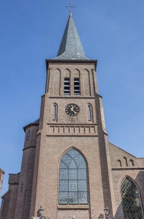 roman catholic: Roman catholic church in the center of Winschoten, Netherlands