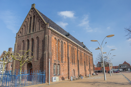 vitus: Reformed or Vitus church on the market square in Winschoten, Netherlands