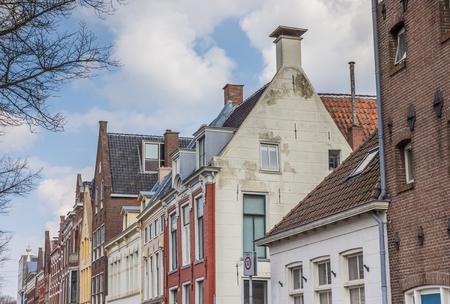 groningen: Old houses the center of Groningen, Holland