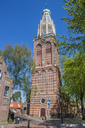 noord: Zuiderkerk in historical village Enkhuizen, The Netherlands