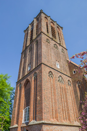 nicolaas: Tower of the Nicholas church in Elburg, Holland