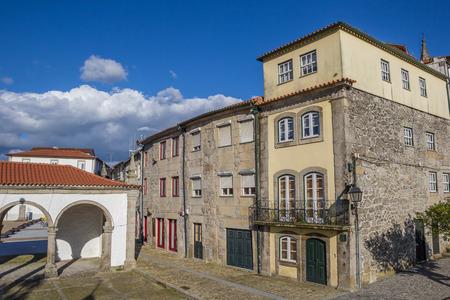 da: Old houses in Ponte da Barca, Portugal