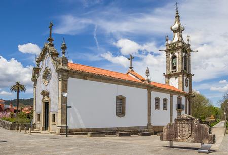 Santo Antonio da Torre Velha church in Ponte de Lima, Portugal