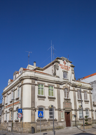 red cross: Building of the red cross in Viana do Castelo, Portugal
